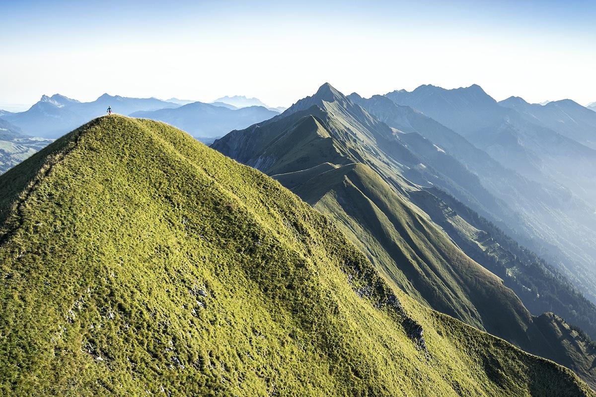 Hardergrat ridge Interlaken
