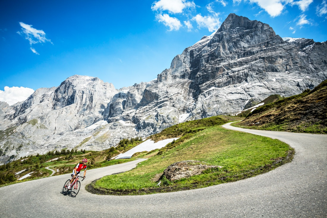 The Grosse Scheidegg cycling