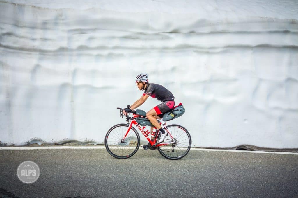 Bike touring the Tour of Mont Blanc