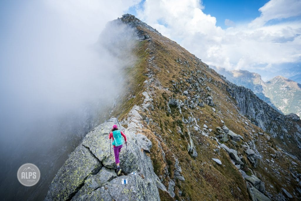 The Via Alta Verzasca is a five day ridge traverse hike above the Valle Verzasca in the Ticino region of Switzerland.