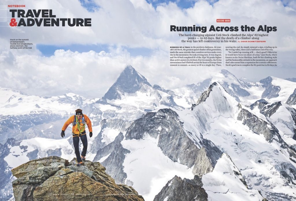 Mens Journal Ueli Steck
