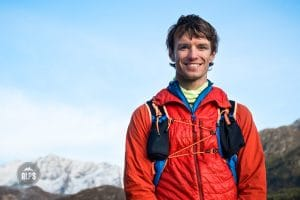 A portrait of top Swiss ultra runner and Sky Racer, Pascal Egli