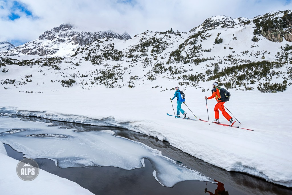 A ski tour through the Pirin Mountains of Bulgaria.