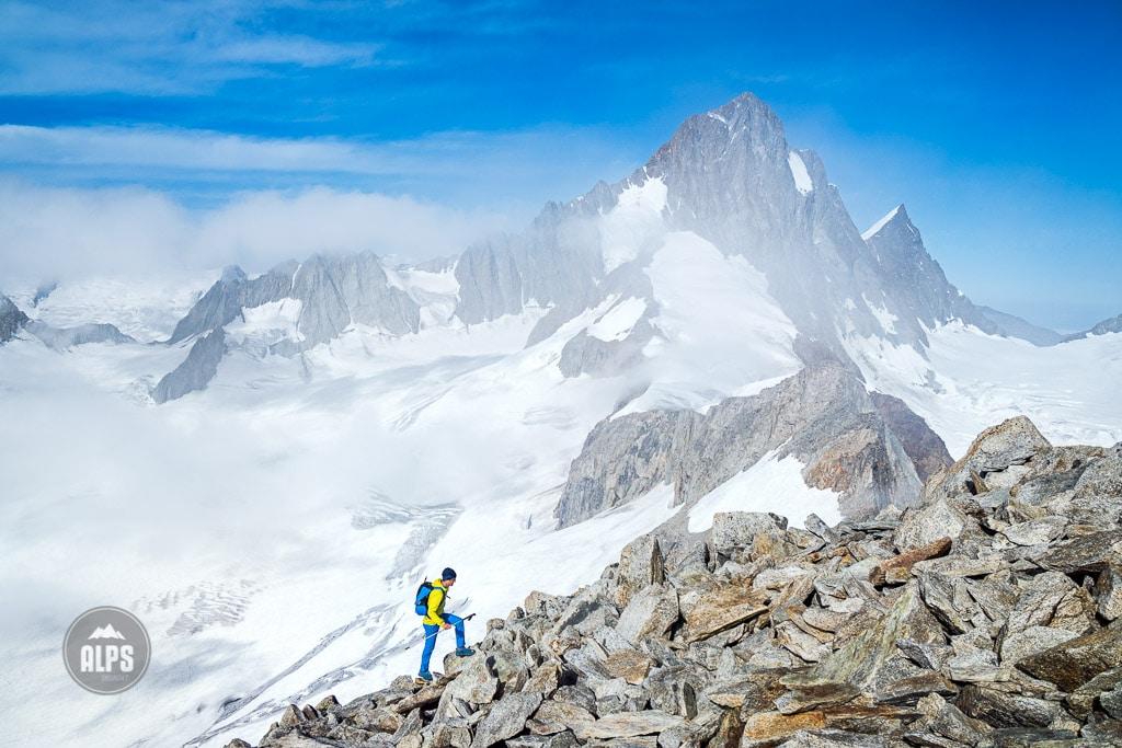 climbing the Oberaarhorn