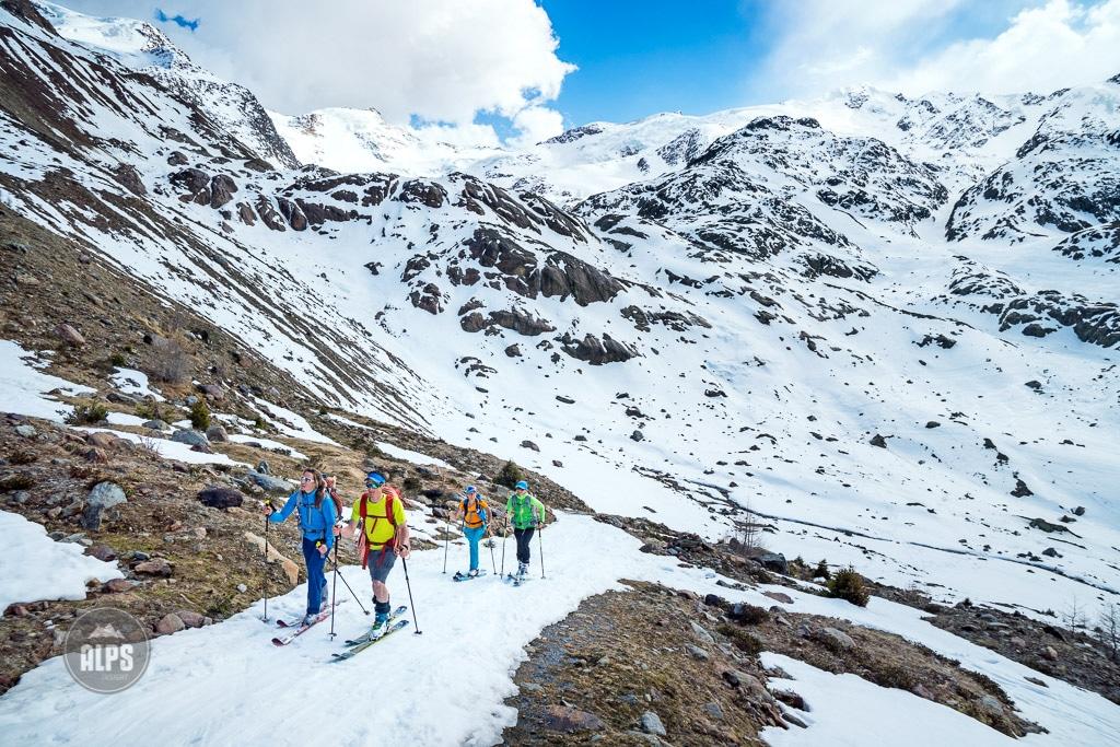 The Ortler ski tour