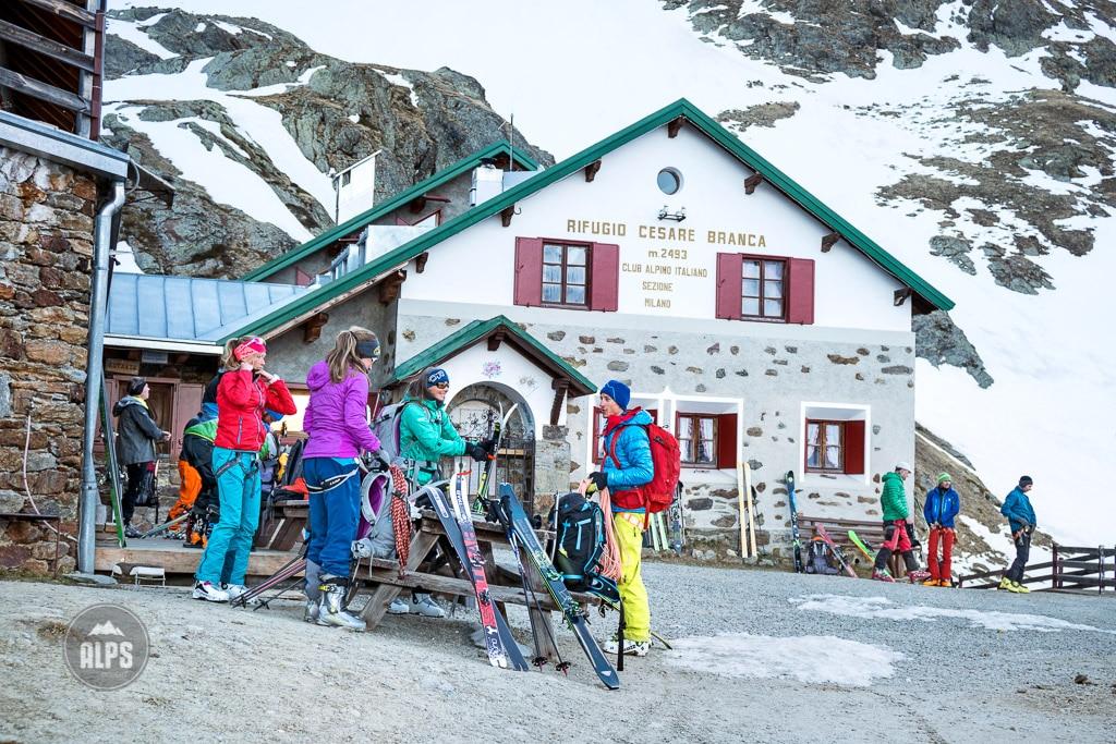 Rifugio Branca, Ortler ski tour