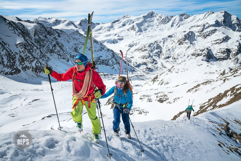 The Ortler ski tour