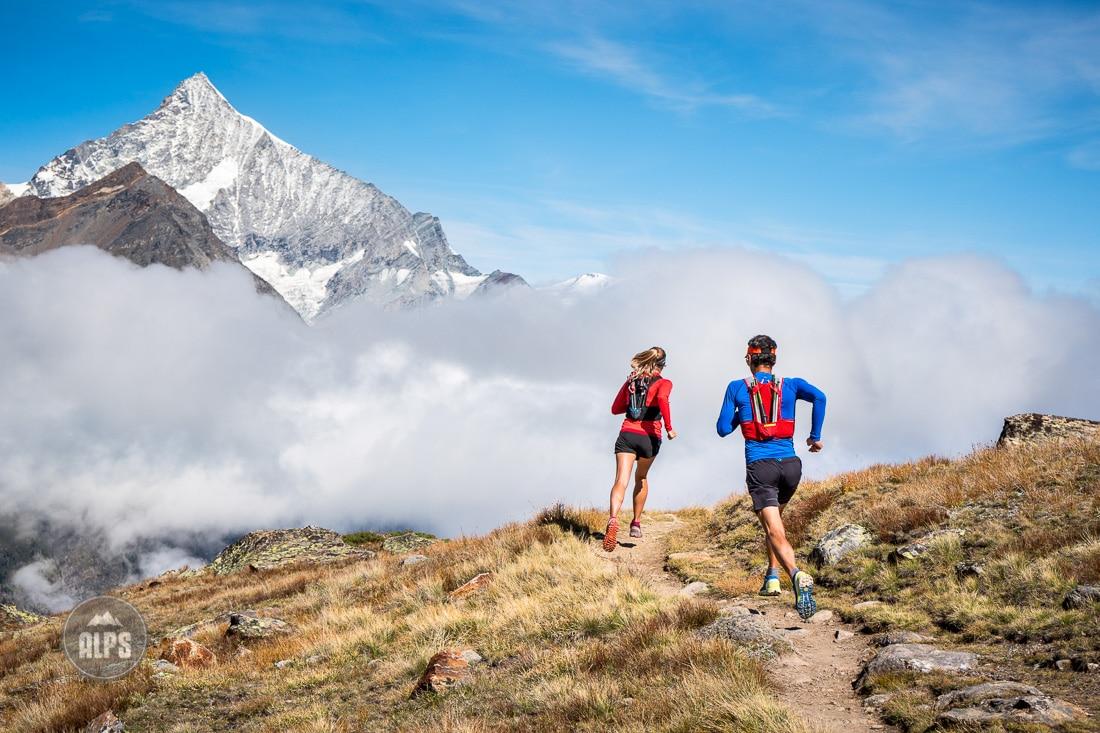 Trail running in Zermatt