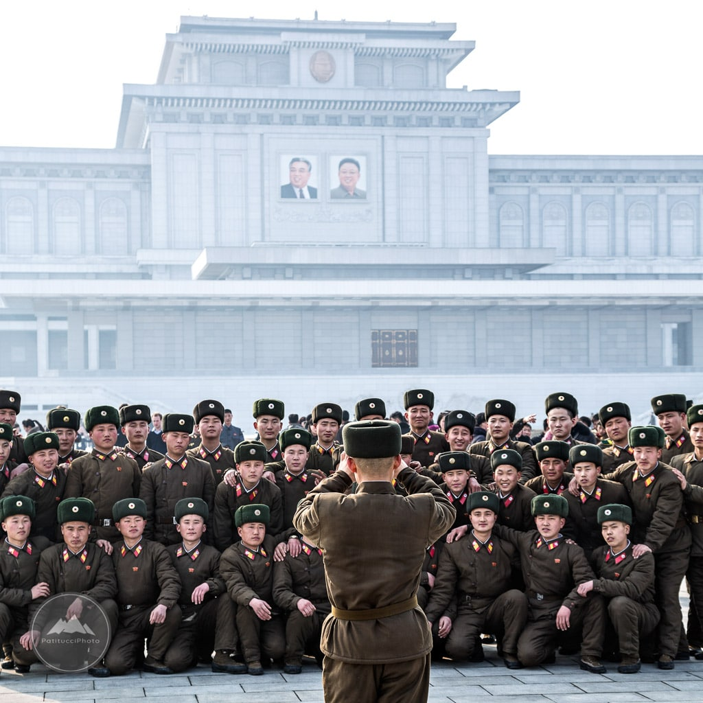 The Pyongyang mausoleum