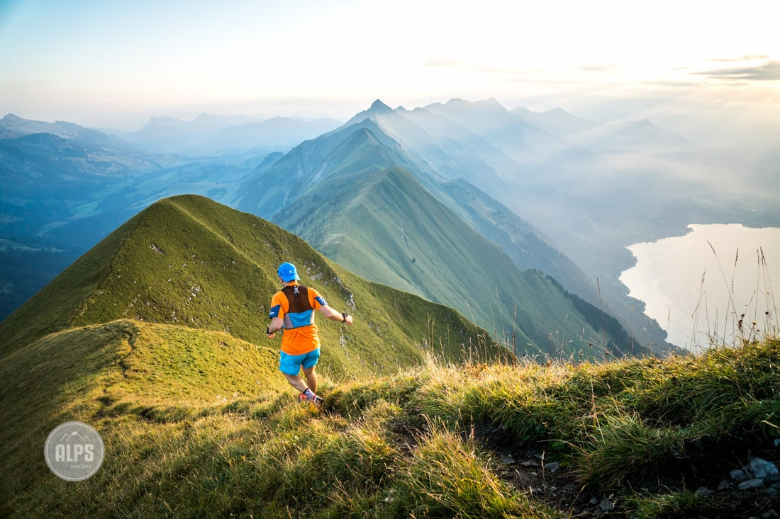 Trail running the Hardergrat
