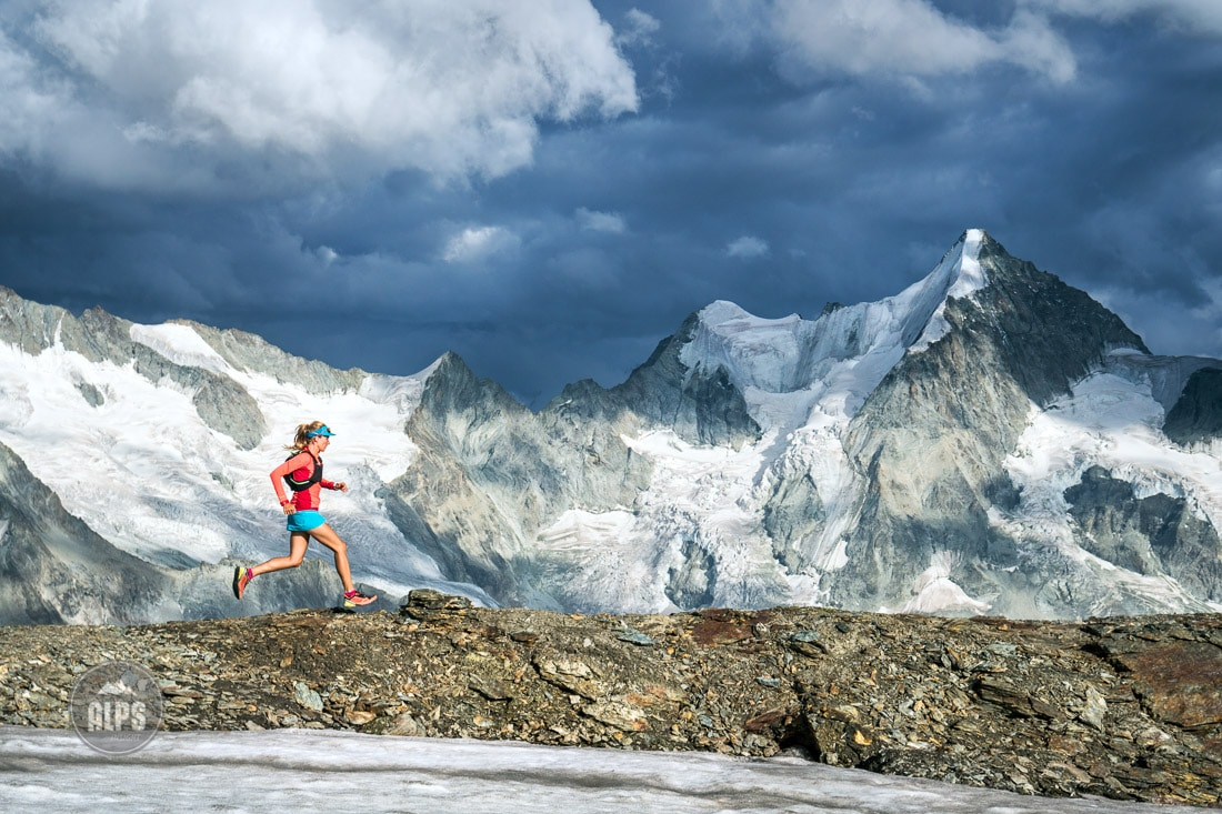swiss alps trail running book, run the alps switzerland