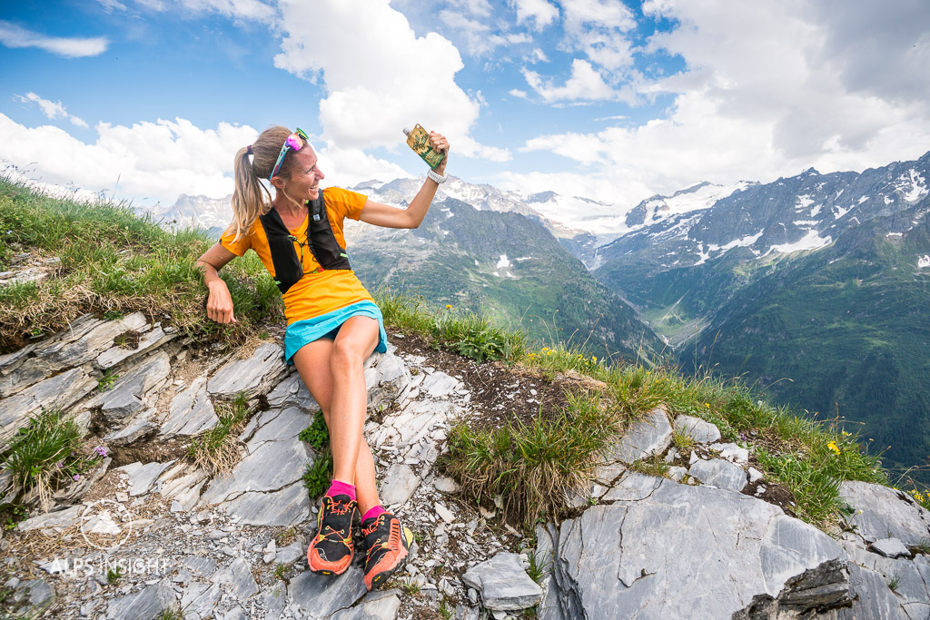Trail running with Trail Butter