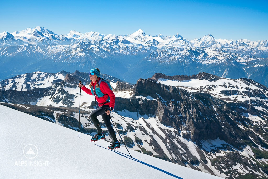 Climbing the Balmhorn with the Kahtoola KTS Crampon, Switzerland