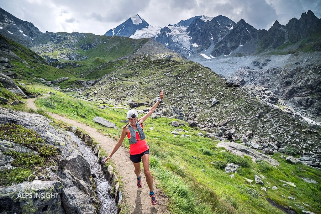 Trail running Val de Bagnes, Switzerland