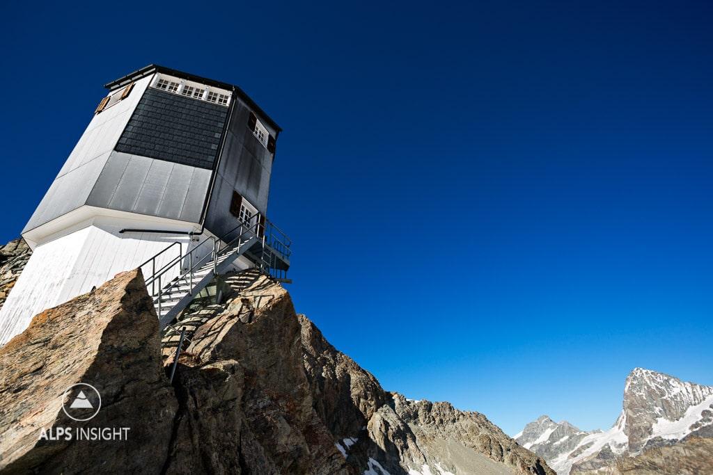 The Bertol Hut, Wallis, Switzerland