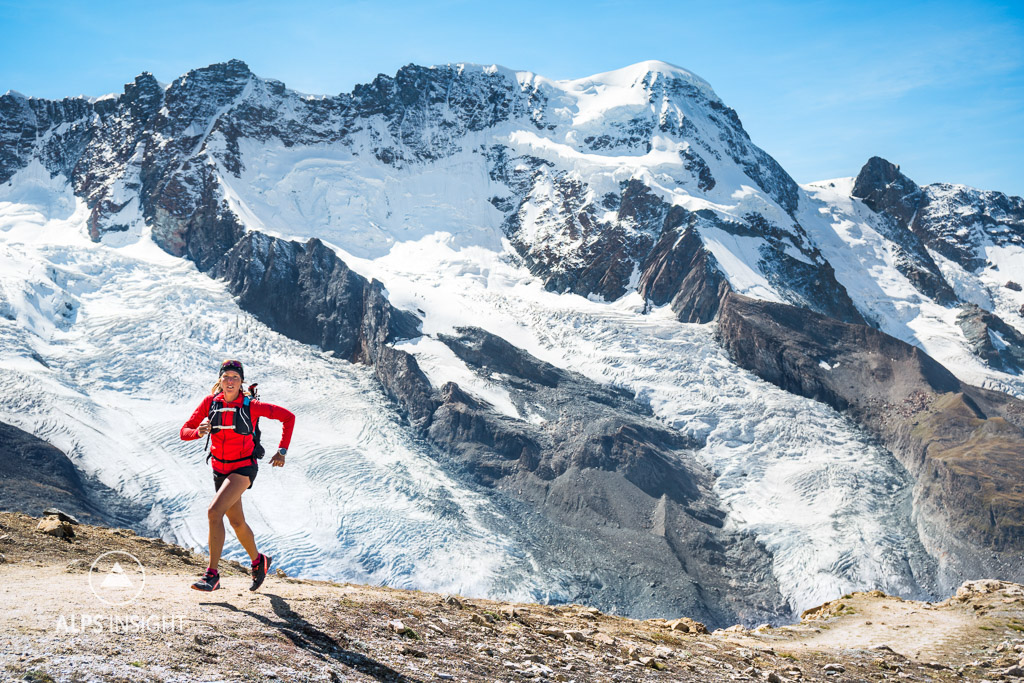 trail running in Zermatt